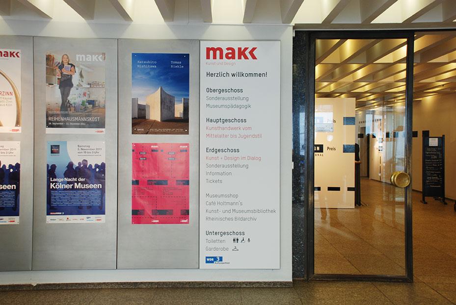 Museum für Angewandte Kunst Köln, Eingangsbereich