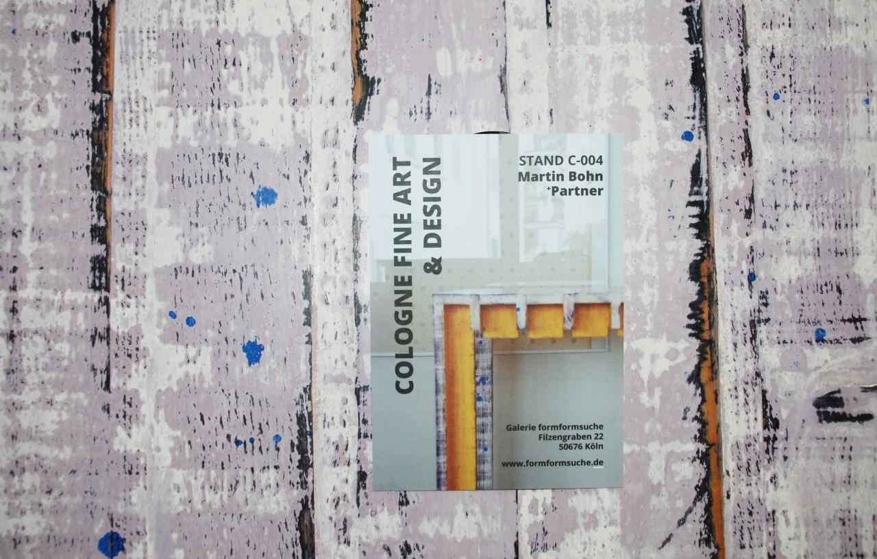 Cologne Fine Art & Design 2021 Stand C-004