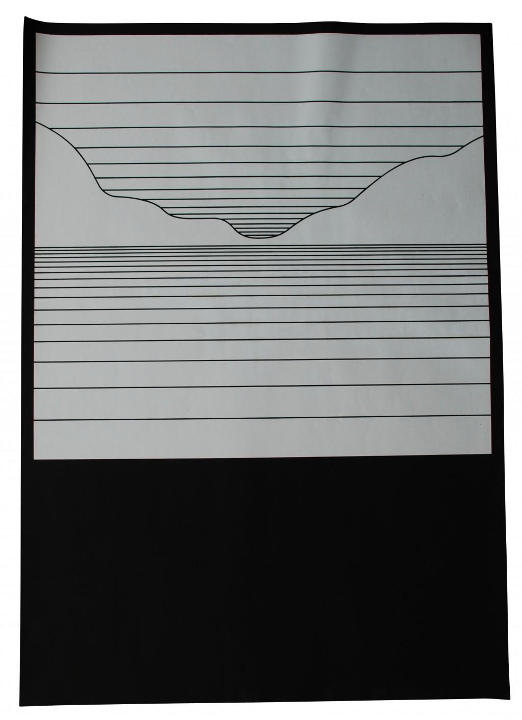 Künstlerplakat, Otl Aicher 1970er Jahre