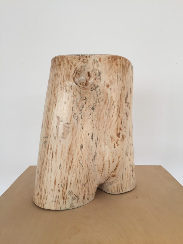 Skulptur 'Waldstück Torso I', Christoph R. Siebrasse 2018